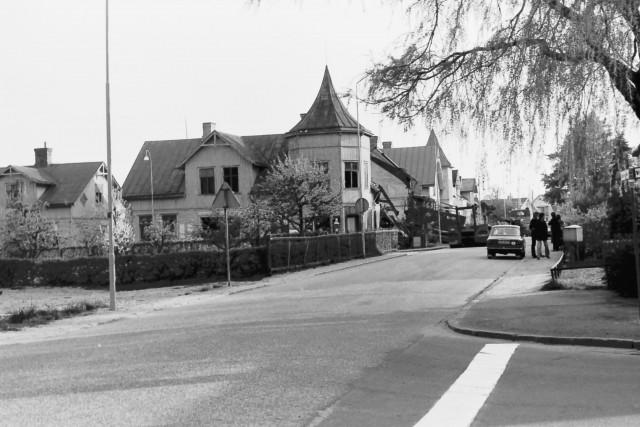 Halmstadbilder Rotorp 50-talet