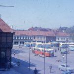 Stora torg i Halmstad 1964